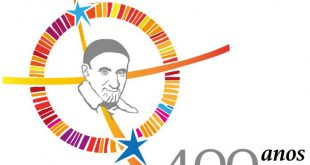 Logo oficial dos 400 anos do Carisma Vicentino.