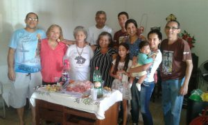 Vicentinos comemoram aniversário de consócia do Jardim Ingá.