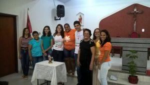 Novos membros Coferência São Miguel Arcanjo.